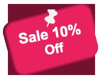 Sale 10% Off